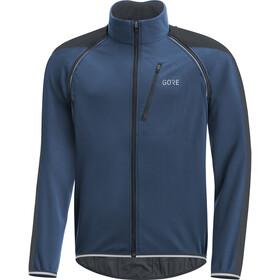 GORE WEAR C3 Windstopper Phantom Zip-Off Jacket Men deep water blue/black